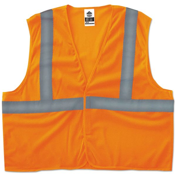 GloWear Class 2 Orange Super Econo Vest