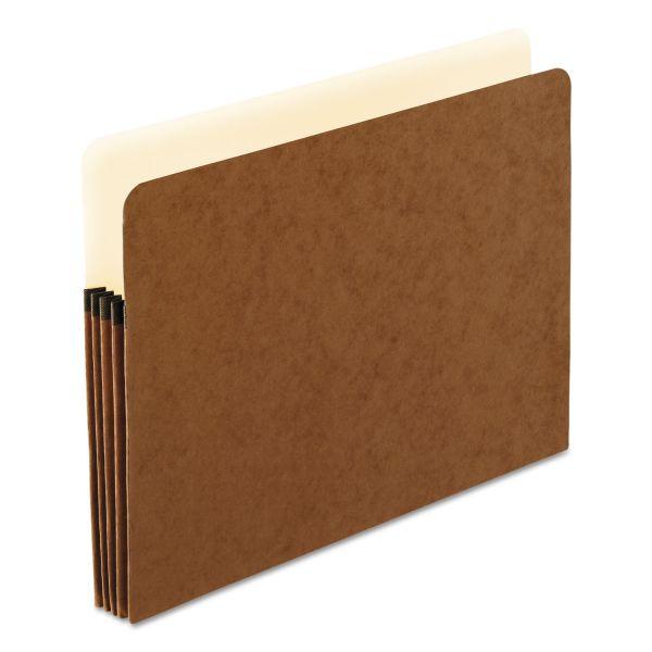 Pendaflex Standard Expanding File Pockets, Manila, Straight Cut, 1 Pocket, Letter, Redrope
