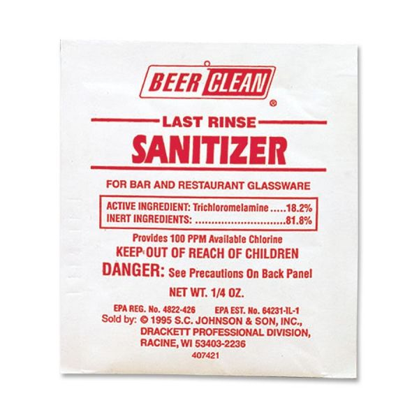 Diversey Last Rinse Sanitizer