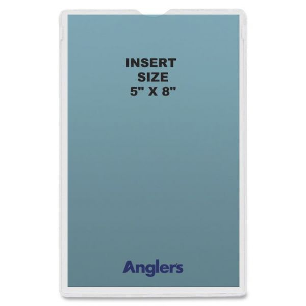 Anglers Heavy Crystal Clear Poly Envelopes