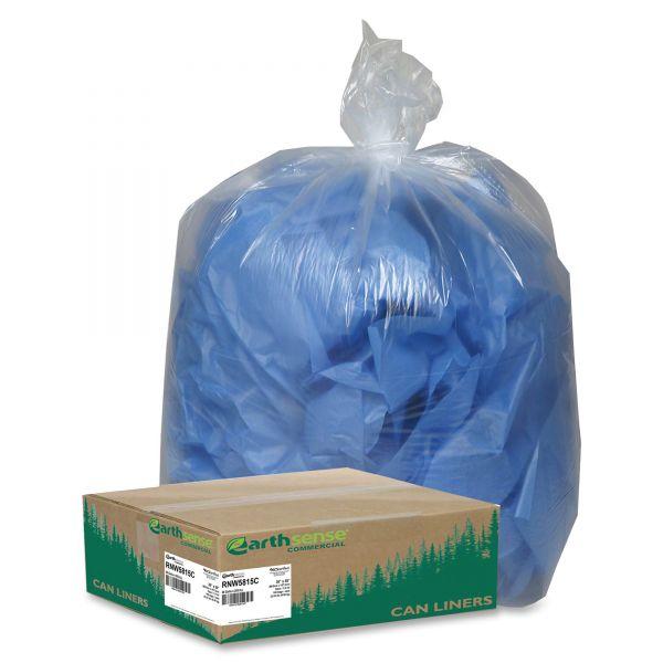 Earthsense Recycled 60 Gallon Trash Bags