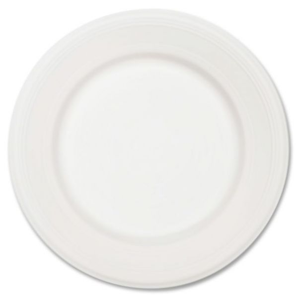 """Chinet Classic White 10.5"""" Paper Plates"""