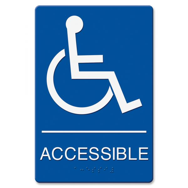 "Headline Signs ""Wheelchair Accessible"" Sign"