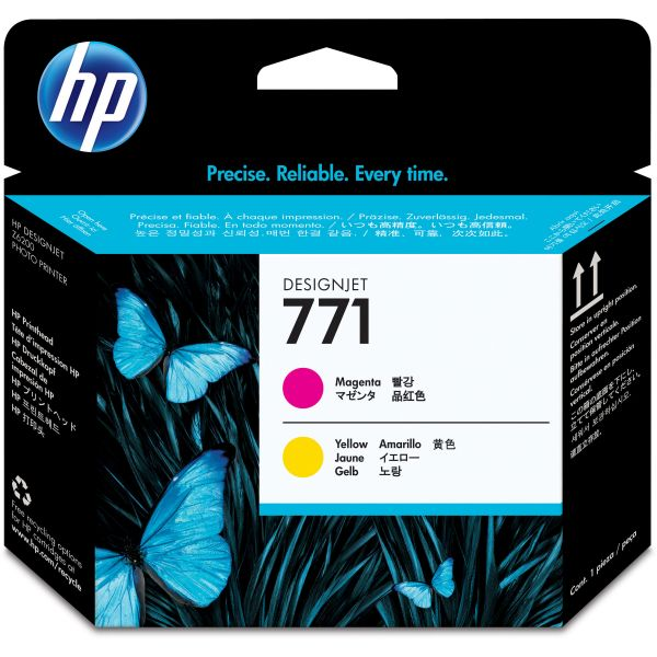 HP 771 Magenta/Yellow Printhead (CE018A)