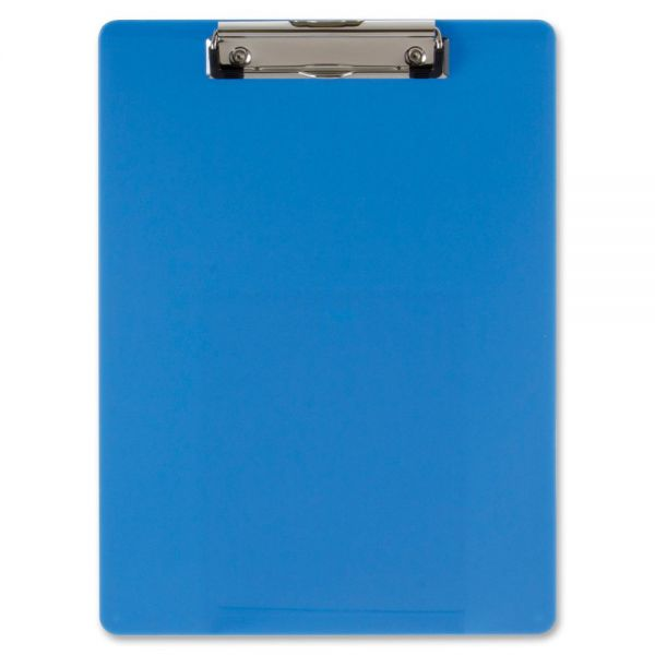 OIC Blue Plastic Clipboard