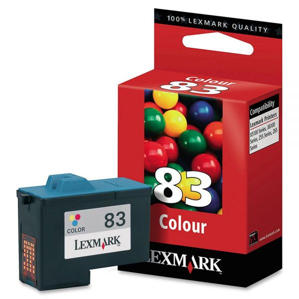 Lexmark #83 Color Ink Cartridge