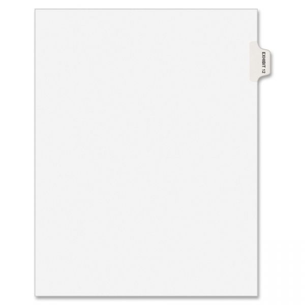 Avery Individual Side-Tab Legal Exhibit Index Dividers