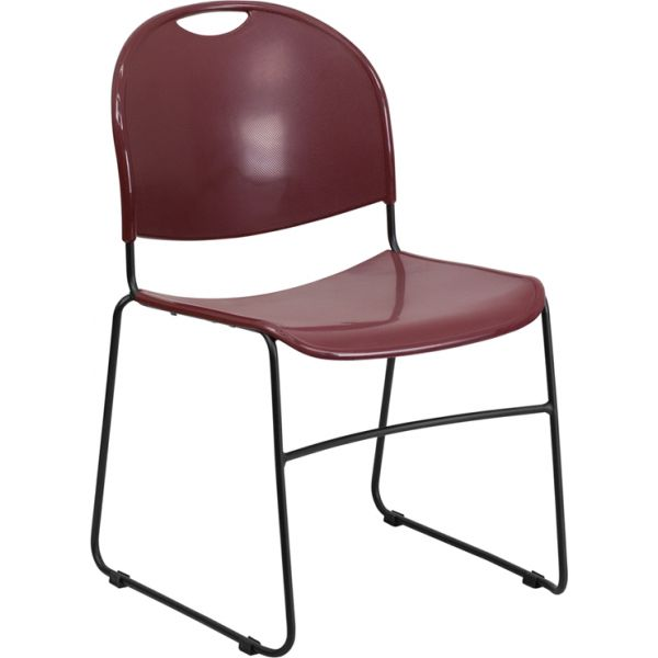 Flash Furniture HERCULES Series Big & Tall Ultra Compact Stacking Chair