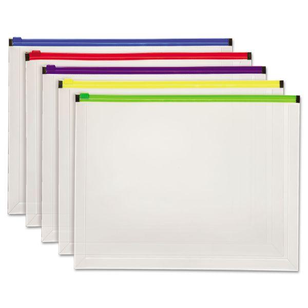 Pendaflex Poly Zip Envelopes