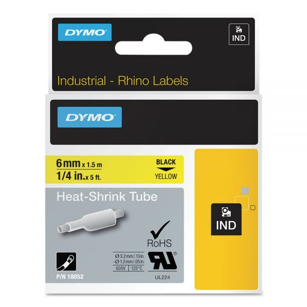 DYMO Industrial Heat-Shrink Tube Label Tape