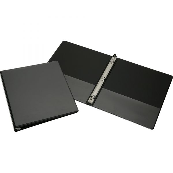"""SKILCRAFT Faux Leather 1/2"""" 3-Ring View Binder"""