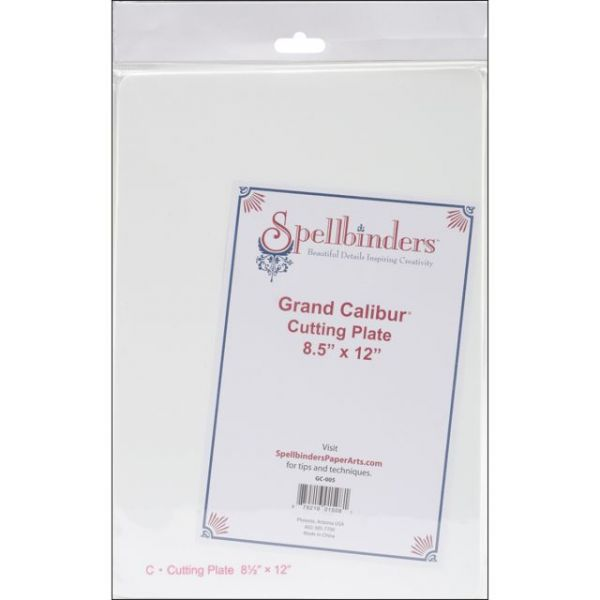 "Spellbinders Grand Calibur Cutting Plate 8.5""X12"""