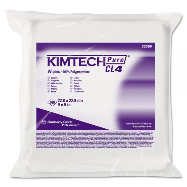 Kimtech CL4 Critical Task Wipers