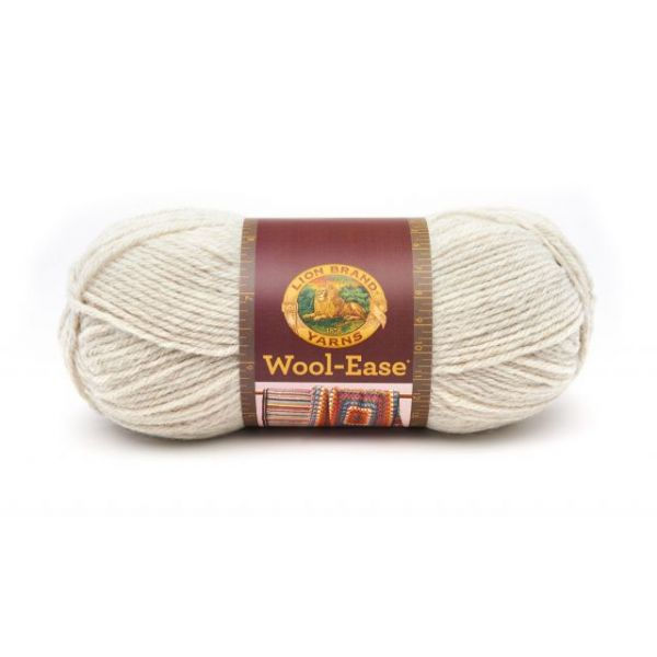 Lion Brand Wool-Ease Yarn - Natural Heather