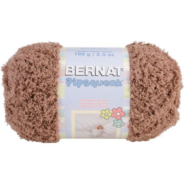 Bernat Pipsqueak Yarn - Chocolate