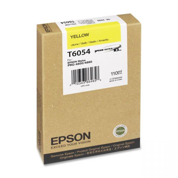 Epson T6054 Yellow Ink Cartridge