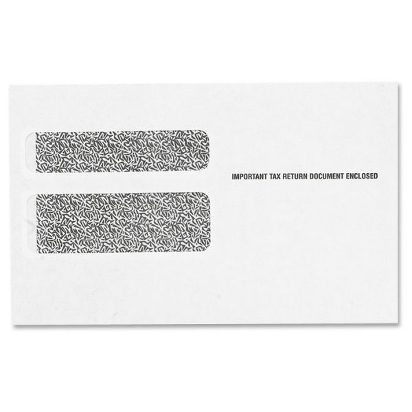 TOPS W-2 Form Double Window Envelopes