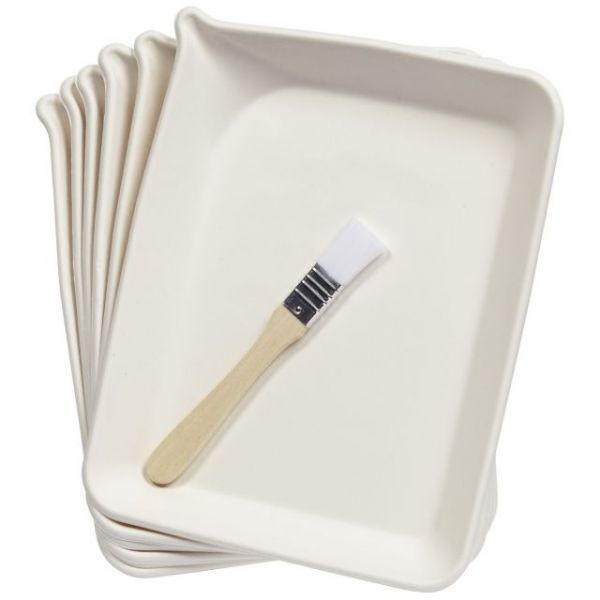 Martha Stewart Glittering Trays & Brush