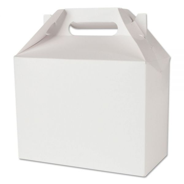 SCT White Carryout Barn Boxes w/ Handles