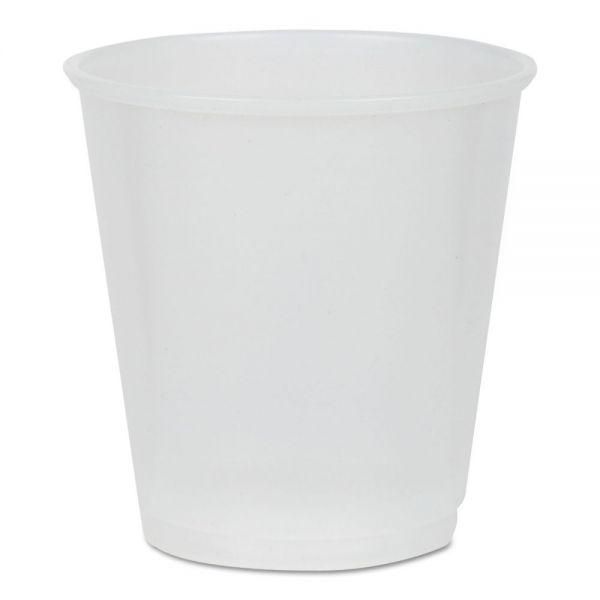 Pactiv 3 oz Plastic Cups