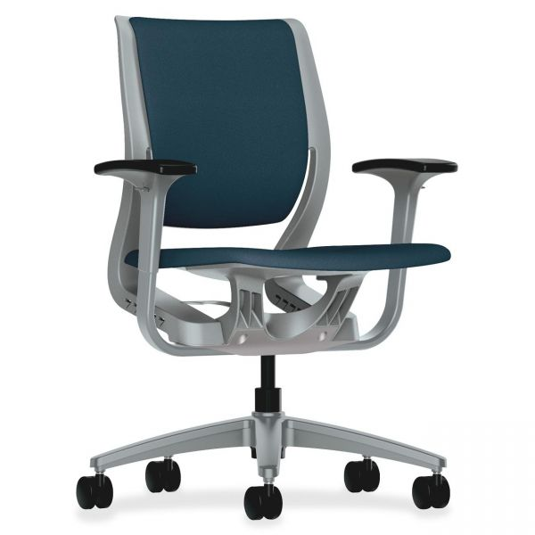 HON YouFit Tech. Mid-back Task Chair w Adj Arm
