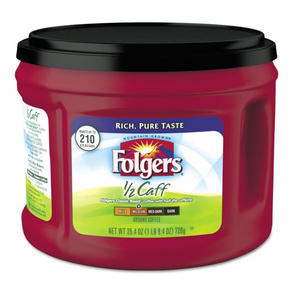 Folgers Half Calf Ground Coffee