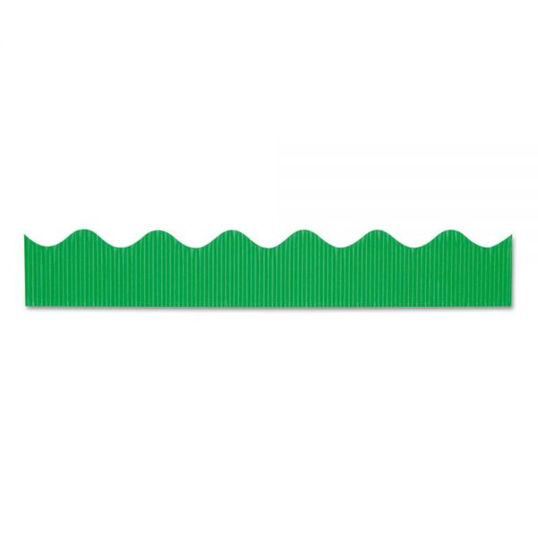 "Pacon Bordette Decorative Border, 2 1/4"" x 50 ft roll, Apple Green"
