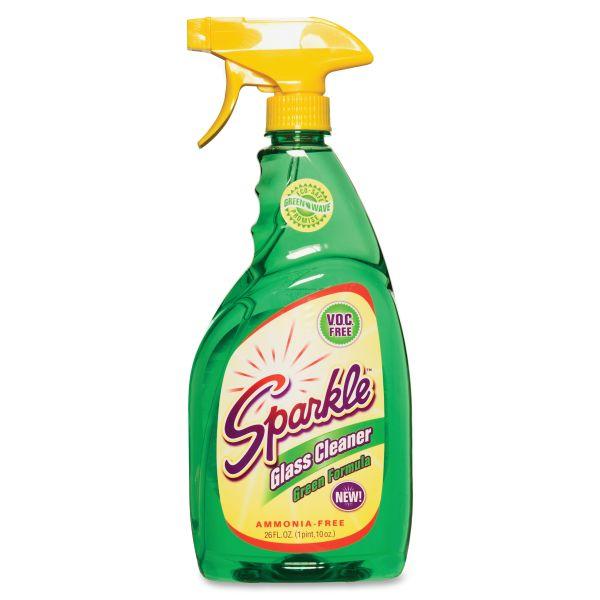 Sparkle Green Formula Glass Cleaner
