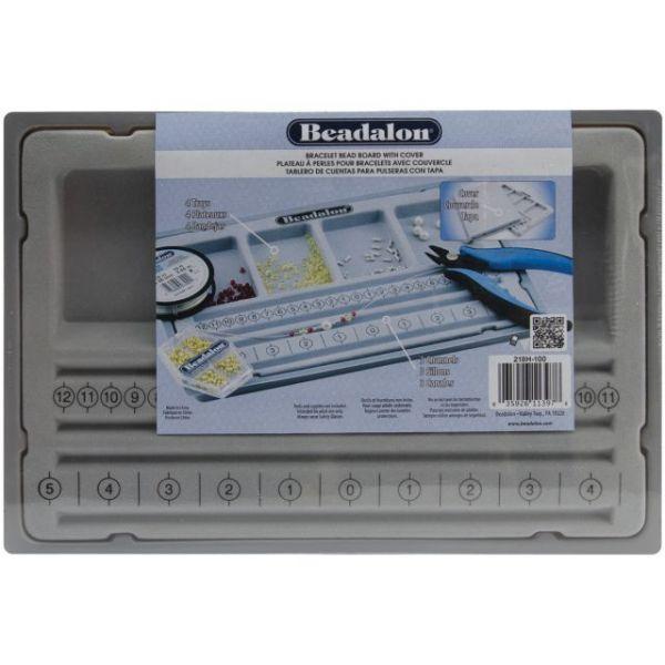 Beadalon Bracelet Beadboard W/Cover