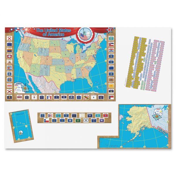 Teacher Created Resources US Map Bulletin Board Display