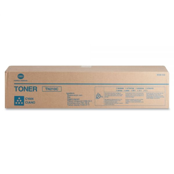 Konica Minolta TN-210C Original Toner Cartridge