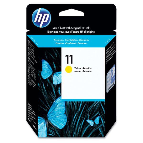 HP 11, (C4838A) Yellow Original Ink Cartridge