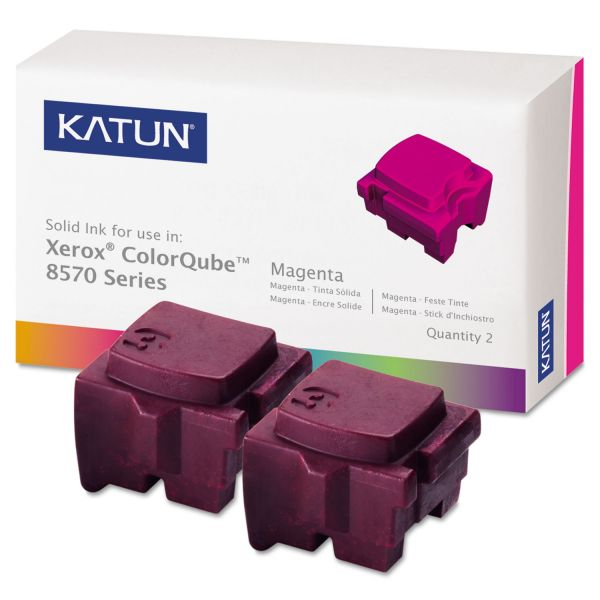 Katun Remanufactured Xerox 108R00927 Magenta Solid Ink Sticks