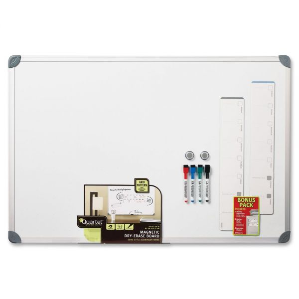 Quartet Euro Style Magnetic Dry-erase Board Set