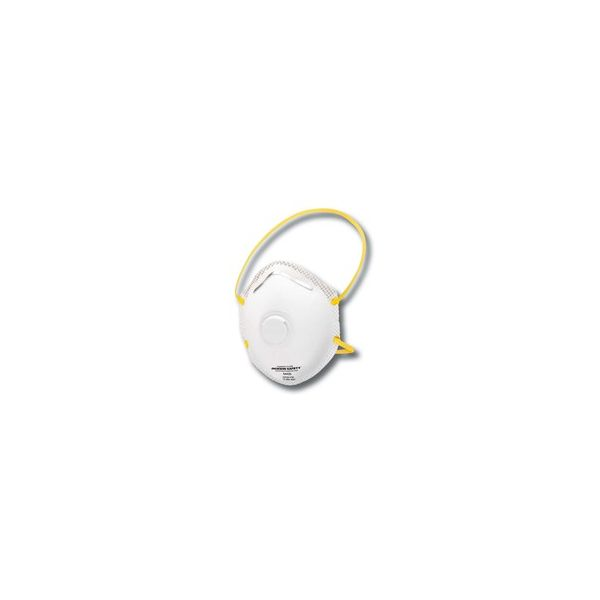 Jackson Safety* R20 Particulate Respirator Single Valve, P95, White/Yellow, 10/Pack, 8 Packs/CT