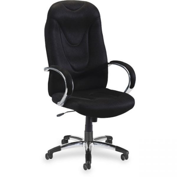 Lorell Airseat High-Back Fabric Chair