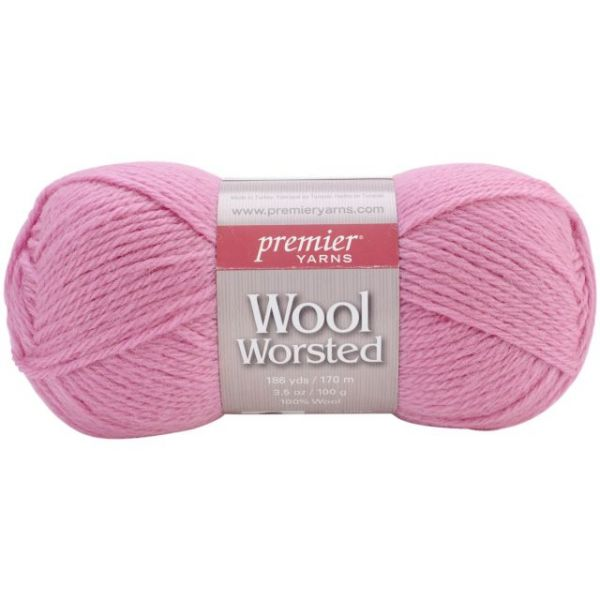 Premier Wool Worsted Yarn - Rouge