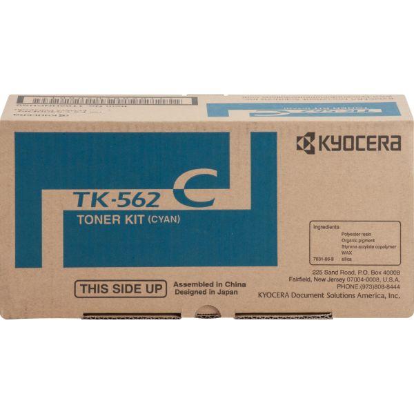 Kyocera TK562C Cyan Toner Cartridge
