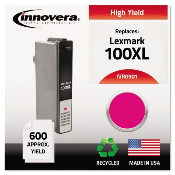 Innovera Remanufactured Lexmark 100XL High-Yield Ink Cartridge