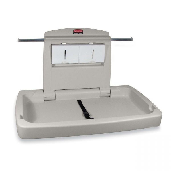 Rubbermaid Horizontal Changing Station with Adjustable Safety Belt