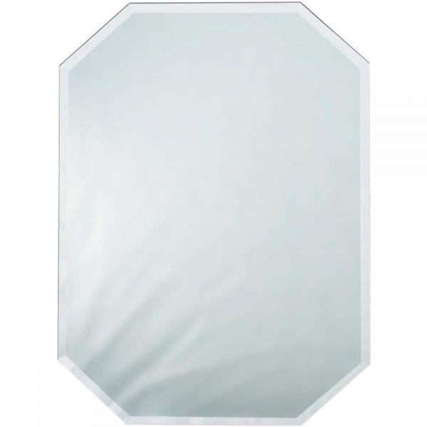 Octagon Glass Mirror Place Mat W/Bevel Edge Bulk