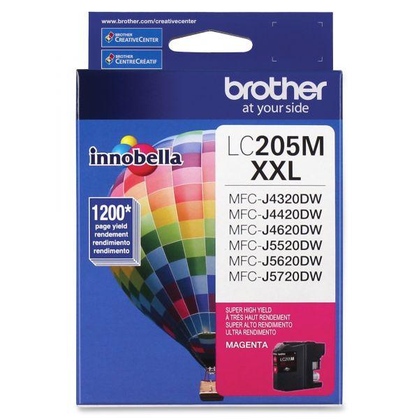 Brother Innobella Super High-Yield LC205M XXL Magenta Ink Cartridge