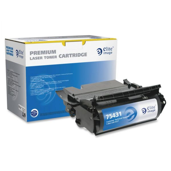 Elite Image Remanufactured Toner Cartridge Alternative For Lexmark T630 (12A7362)