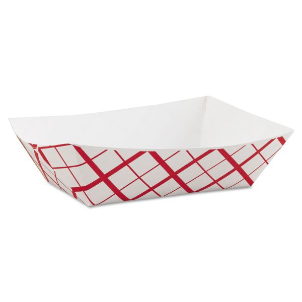 SCT 3 lb Paper Food Baskets