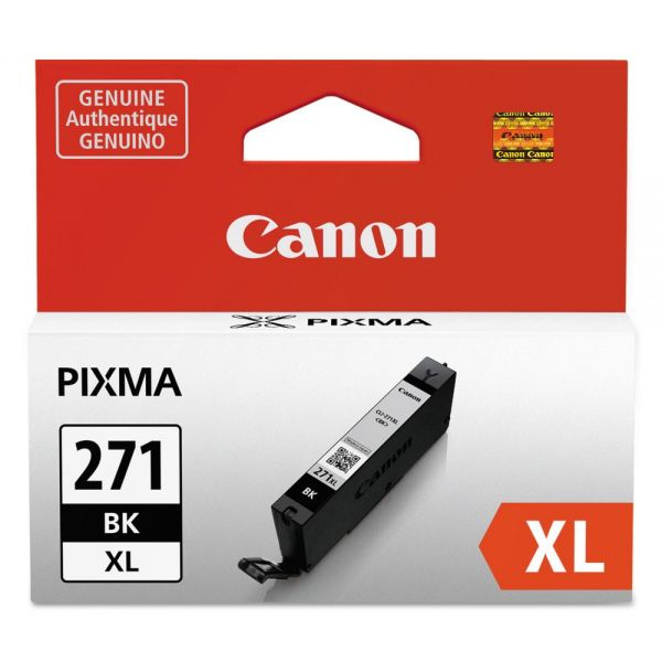 Canon CLI-271XL High-Yield Black Ink Cartridge (0336C001)