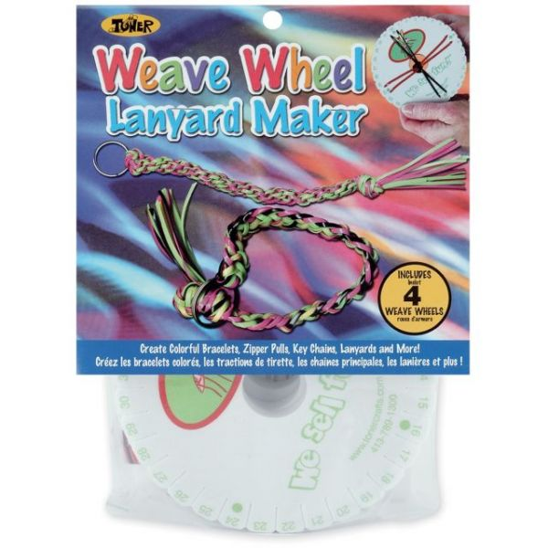 Weave Wheel Lanyard Makers