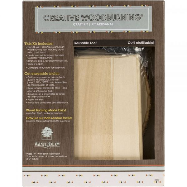 Creative Woodburning Craft Kit I