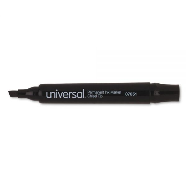 Universal Black Permanent Markers