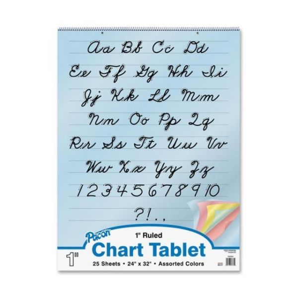Pacon Colored Paper Chart Tablet