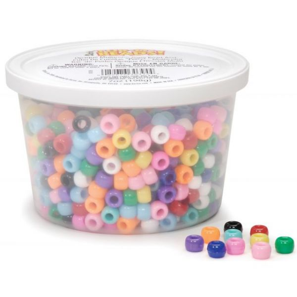 Tub-O-Beads Pony Beads 6mmX9mm 7oz